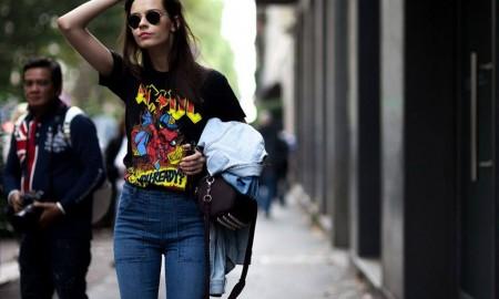 how to wear - to agapimeno sou tshirt pou einai panta sti moda