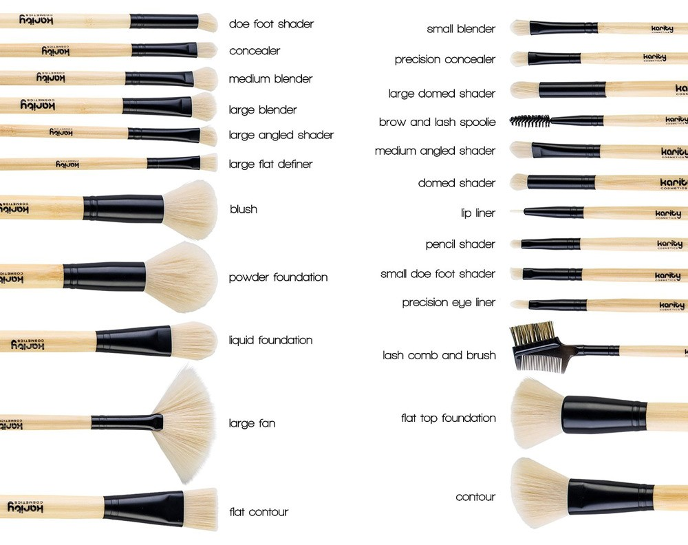vander 32 piece brush set guide